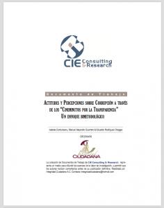 """Book Cover: ACTITUDES Y PERCEPCIONES SOBRE CORRUPCIÓN A TRAVÉS DE LOS """"CINEMINUTOS POR LA TRANSPARENCIA""""  UN ENFOQUE BIMETODOLÓGICO"""