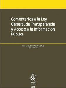 Book Cover: Comentarios a la Ley General de Transparencia y Acceso a la Información Pública