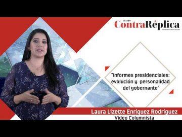 Informes presidenciales: evolución y personalidad del gobernante