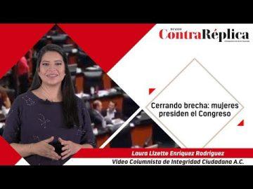 Abriendo camino y cerrando brecha: Mujeres presiden el Congreso